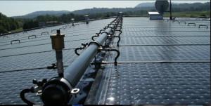 Uno degli impianti con Tetto Solare AS